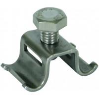 DEHN+SOHNE Отдельная клемма для ленточных держателей Rd= 6-8 мм 14x0.3 мм NIRO (540930)