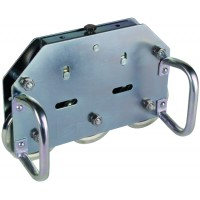DEHN+SOHNE Устройство для правки проволоки, 5 роликов с рукоятями St/tZn для Rd= 7-10mm (597004)