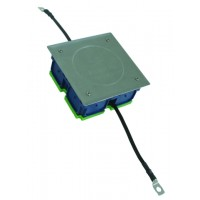 DEHN+SOHNE Инспекционный люк UP 160x160x68 мм с обжатыми гибкими медными проводниками (16 мм²) длиной ок. 200 мм (476016)