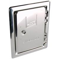 DEHN+SOHNE Инспекционная дверца для монтажа под штукатурку NIRO 205x145 мм (476020)