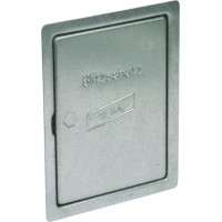 DEHN+SOHNE Инспекционная дверца для монтажа заподлицо St/tZn 230x180 мм (476100)