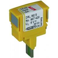 DEHN+SOHNE Защитный штекер для вставного магазина DRL DEHNrapid LSA 12 В (907421)