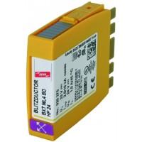 DEHN+SOHNE BLITZDUCTOR XT Комбинированное УЗИП для 2-х высокочастотных интерфейсов 24 В (920375)