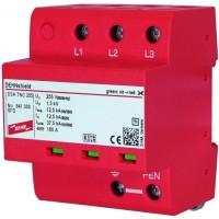 DEHN+SOHNE Комбинированное УЗИП класс I; уровень защиты III + IV; для систем TNC (941300)