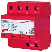 DEHN+SOHNE Комбинированное УЗИП класс I; уровень защиты III + IV; для систем TNS (941400)