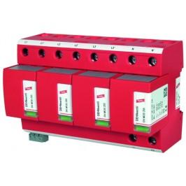 DEHN+SÖHNE Комбинированное УЗИП DV M TNS 255 FM класс I, с контактом удалённой сигнализации
